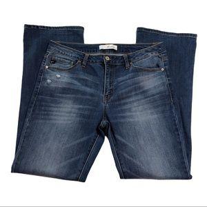 KanCan Medium Wash Flare Jeans 1217